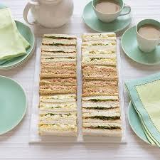 Tea Sandwich Recipes for Kids Parties