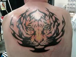 53 angry tiger tattoos on back