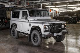 new land rover defender the 2 millionth land rover defender built is a special one off