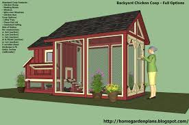 diy backyard chicken coop plans with home garden plans s101