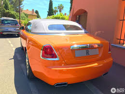 roll royce orange rolls royce dawn 8 îýì 2017 autogespot