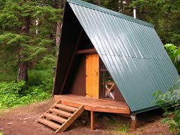 Small A Frame House Tongass National Forest Kook Lake Cabin