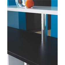 mobilier de bistrot meuble cuisine 80x80 table haute de cuisine avec rangement