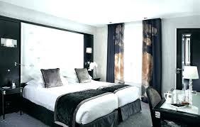 chambre à coucher blanc et noir chambre e coucher blanche photo dans chambre a coucher blanc design