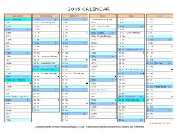 2015 calendar printable template 2017 excel full year w saneme