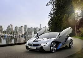 bmw hybrid sports car i8 concept in hybrid sports car in detail