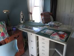 Ikea Gateleg Table by Uggabear Cottage Touring My Scrappy Happy Place
