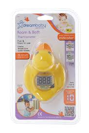 bathtub thermometer floating amazon com dreambaby room and bath thermometer yellow duck baby