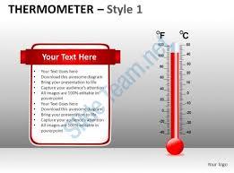 thermometer 1 powerpoint presentation slides db presentation