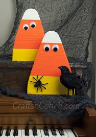 Fun Halloween Crafts - candy corn crafts week craft these duct tape candy corn cuties