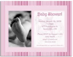 photo baby shower invitation wording image