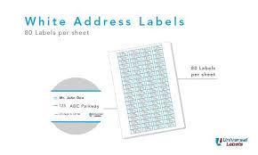 80 labels per sheet template u2013 aiyin template source