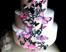 edible butterflies u0026 decorations for cakes u0026 by sugarrobot on etsy