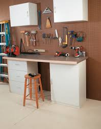 Workbench Designs For Garage Turning Your Garage Into A Workshop