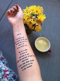 gorgeous arm quote