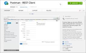 rest api testing postman chrome extension mastering
