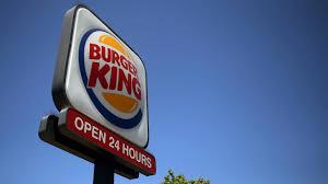 halloween burger burger king burger king dresses as ghost of mcdonald u0027s for halloween wsb tv