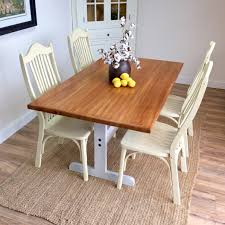 oak trestle dining table trestle dining tables with reclaimed wood of also small table