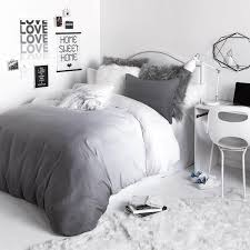 grey bedding ideas bunch ideas of grey bedding with grey ombre duvet cover and sham set