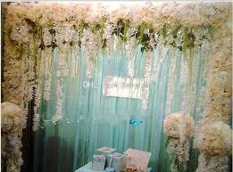 new artificial silk flower vine spider plants flower wedding