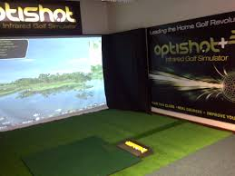 Home Golf Simulator by Projection Nets U2014 Optishot Indoor Golf