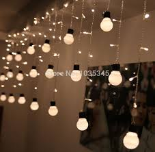 outdoor bulb string lights 5m 10m globe string lights holiday garland fairy lights string led