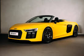 Audi R8 V10 Spyder - road test audi r8 v10 spyder south wales argus
