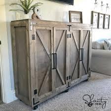 storage kitchen cabinets cost diy farmhouse x storage cabinet shanty 2 chic