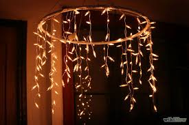 how to make fairy lights the ultimate how to make a hula hoop chandelier checklist