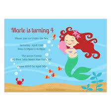 E Card Designer L U0027il Mermaid Invitations U0026 Cards On Pingg Com