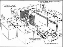 ezgo marathon wiring diagram ezgo wiring diagrams collection