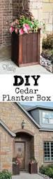 Patio Planter Box Plans by Planter Box Plans Cedar Diy Planter Box Planters And Box