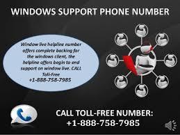 Windows Help Desk Phone Number by Windows Customer Phone Number 1 888 758 7985 Toll Free United