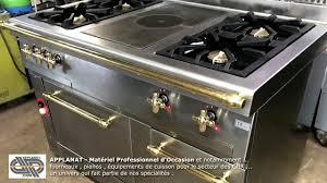 piano cuisine professionnel occasion fourneau de cuisine professionnelle d occasion r nov con