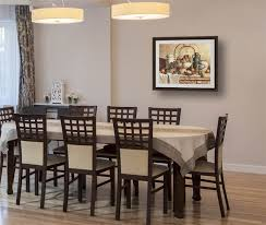 Large Art Space Solutions Decorating Ideas And Art Inspiration - Dining room framed art