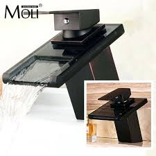 modern sink faucets waterfall faucets bathroom faucet mixer taps