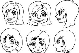 to draw cartoon faces