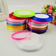 satin ribbon wholesale 6mm 25 yards single silk satin ribbon wholesale decorative