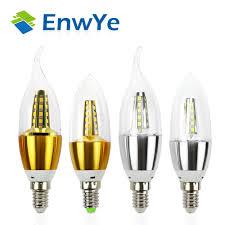 popular e14 led buy cheap e14 led lots from china e14 led enwye 10pcs e14 led candle energy saving lamp light bulb home lighting decoration led lamp e14