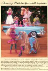 barbie 57 chevy 12 days of christmas presents past 1990 barbie in all her pepto