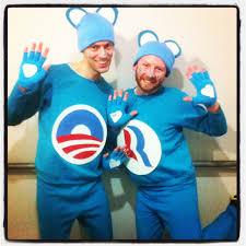 costume of the year obamacare bear u0026 romneycare bear identical