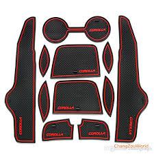 2011 toyota corolla accessories 2017 car accessories for toyota corolla gate slot pad anti slip