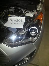 for sale oem veloster turbo headlights includes shipping u0026 pair
