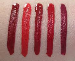 red swatch nars powermatte lip pigment reds red swatches review photos