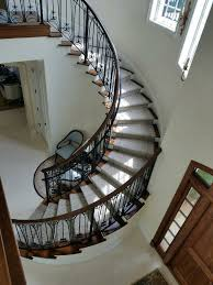 Refinish Banister Staircase Refinishing Real Hardwood Or Laminate Custom Finishing