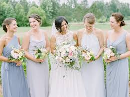 mismatched bridesmaids dresses southern bride and groom magazine