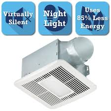Bathroom Exhaust Fan With Light 10 5 Bath Fans Bathroom Exhaust Fans The Home Depot