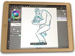 the drawing tablet and app to satisfy any comic book artist