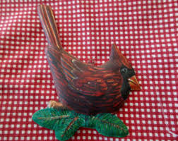 metal bird ornament etsy