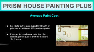 how much does it cost to paint a house interior youtube